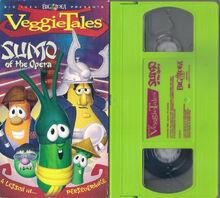 VeggieTales Sumo of the Opera VHS 2004