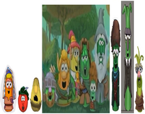 VeggieTales Lord of the Beans Miriam Laura Carrot As Herself Concept Art