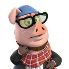 Hipster Pig