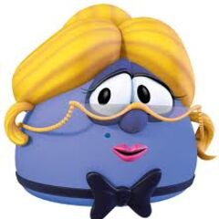 Madame Blueberry as the Maitre D in