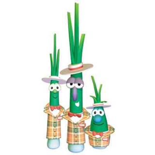 Scallions as Salesmens in