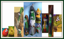VeggieTales Lord of the Beans Frames