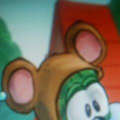 Concept art for Junior as Baby Bear in <i>The Good Egg of Gooseville