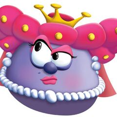 Madame Blueberry as Queen Blueberry in