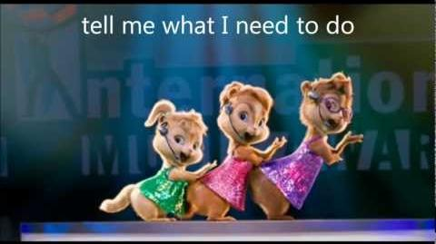 Getting lucky the chipettes lyrics