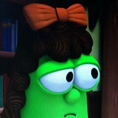 Papaya as Boarding School Girl in