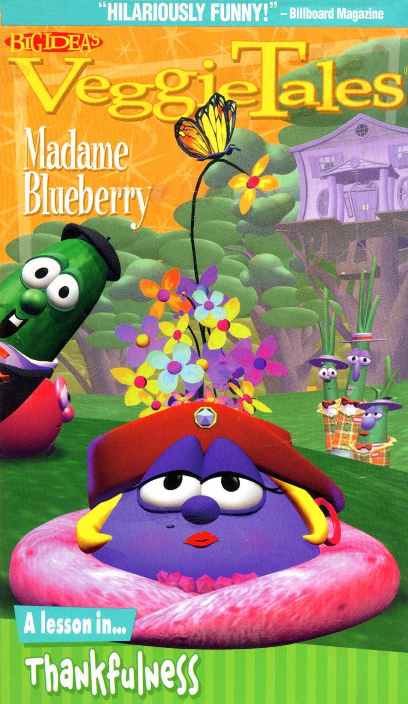 Veggie Tales Camera Madame Blueberry toy