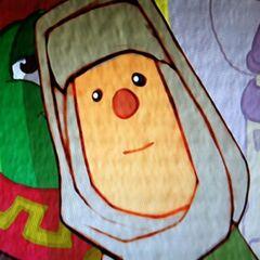 Mary as a cartoon
