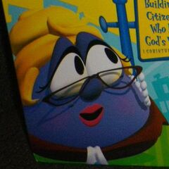 Madame Blueberry as Mayor Blueberry in
