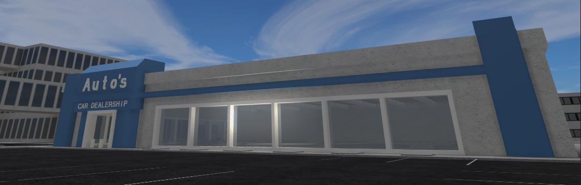 East Side Auto >> Auto's Car Dealership | Roblox Vehicle Simulator Wiki ...