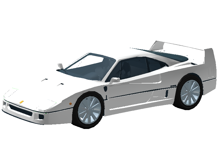 Ferrari F40 Roblox Vehicle Simulator Wiki Fandom Powered By Wikia