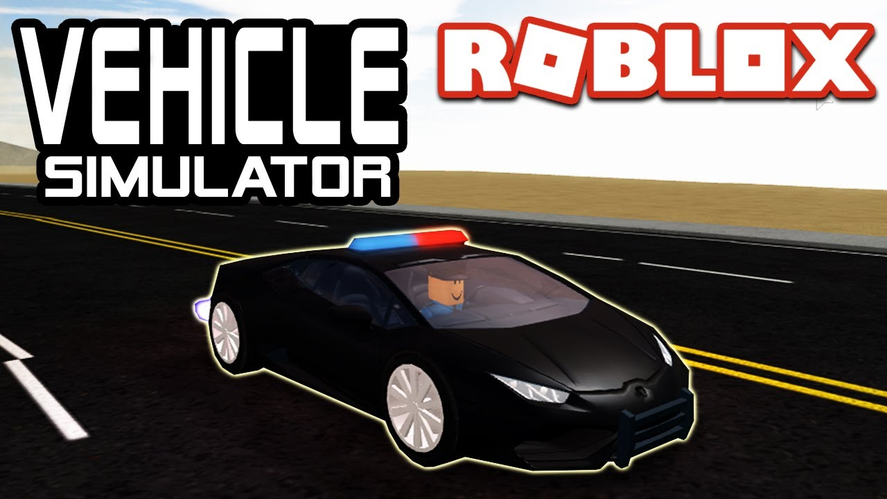 Lamborghini Huracan Police Roblox Vehicle Simulator Wiki