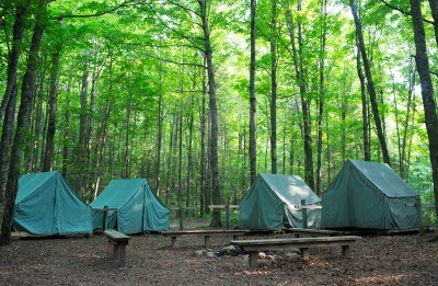 camping in the woods. 14481365-wall-style-camping-tents-at-rustic-campground-during-daytime-in- Woods.jpg Camping In The Woods