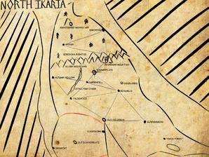6-29-19 North Ikaria Map