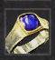 Ring der Gefolgschaft - blau