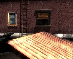 Rabenblick Fenster Haus 5