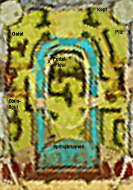 Palastgartenkarte