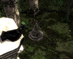 Rabenblick Portal Figur