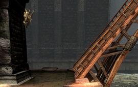 Steindemon bei Dunkelschiff