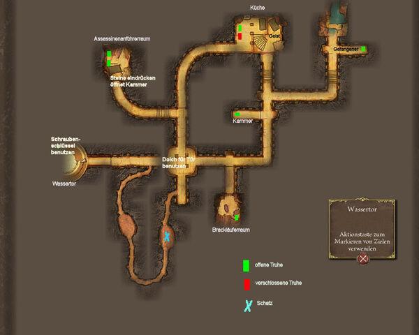 Wassertor-Karte