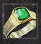 Ring der Gefolgschaft - grün