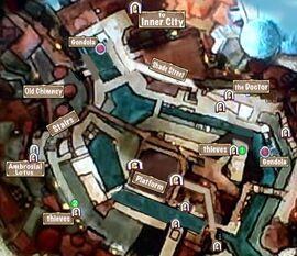 Quest Map Lesser Evil