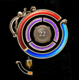 Lantern fill level