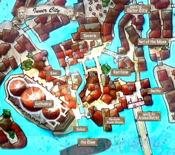 Map of Inner City