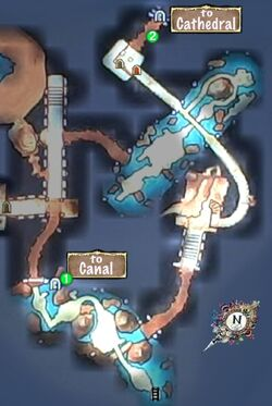 Quest Map to Old Cathedral