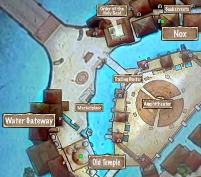 Quest Map Where is the Black Grimoire