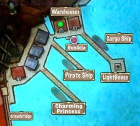 Quest Map Bad News Harbor