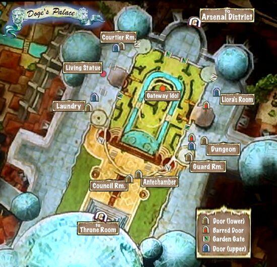 Map of Palace