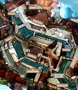 Quest Map to Arsenal Catacombs