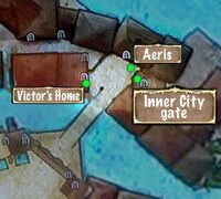 Quest Map Net of the Mask Outer City