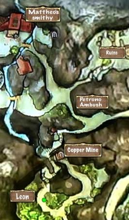 Quest Map A Friend in Distress