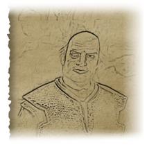 Tusker portrait
