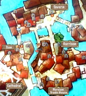 Map of Inner City Rooftop Access