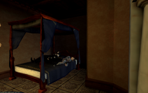 Scarlett in necromancer bed