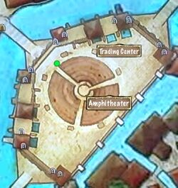 Quest Map Access to the Amphitheater