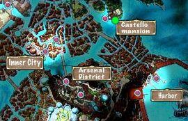 Quest Map Castello Mansion