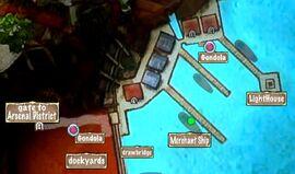 Person Map Venetian Captain