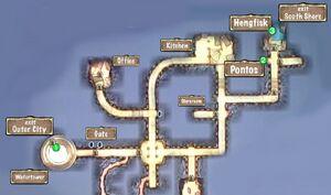Quest Map Merchant Vessel Water Gateway