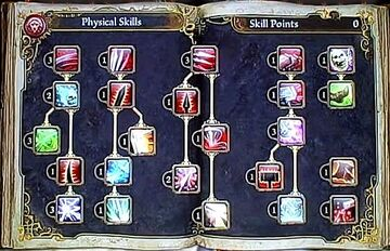 Physical Skills Page