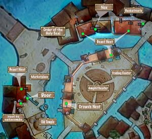 Quest Map Clear Sky in the Outer City