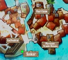Person Map Tusker Inner City