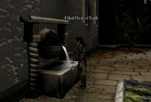 Flask of faith refilled