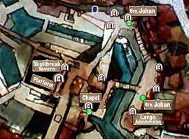 Quest Map Of Cursed Chapels