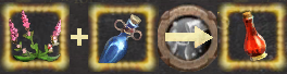Alchemy hp reaction