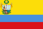 Bandera de la Gran Colombia 1819 svg