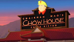 Chairman Waos Chow House
